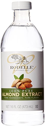 Rodelle Pure Extract, Almond, 16 Ounce