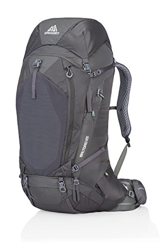 Gregory Mountain Products Men's Baltoro 65 Liter Backpack, Onyx Black, Medium