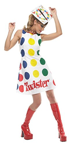 Twister Game Costume - Medium - Dress Size 8-10