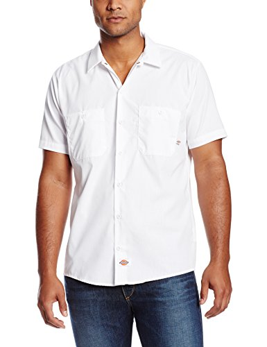 - Dickies Men's Short Sleeve Industrial Work Shirt