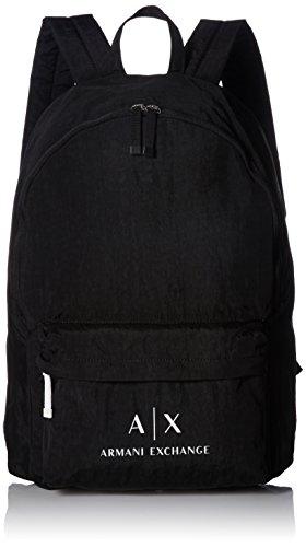 Armani Exchange Men's Crinkle Nylon Backpack Accessory, -nero, - Giorgio Armani Com