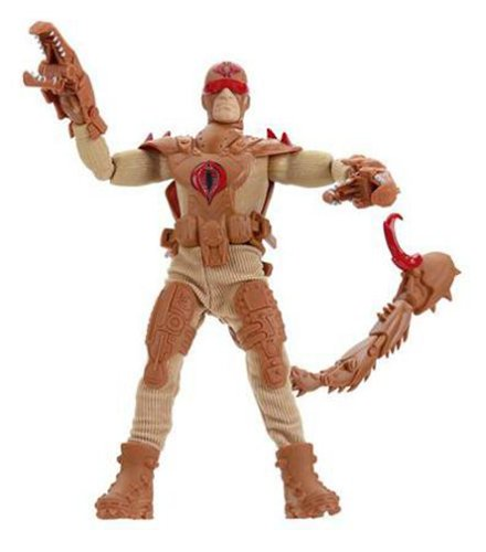 Claws Joe Gi (G.I. Joe Valor Vs Venom 12 Inch Tall Action Figure - Sand Scorpion with Claws, Leg Armor, Boots, Chest Armor and Scorpion Tail)