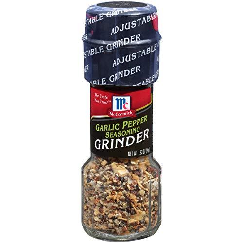 (Grinders Garlic Pepper Seasoning - 6 Pack)