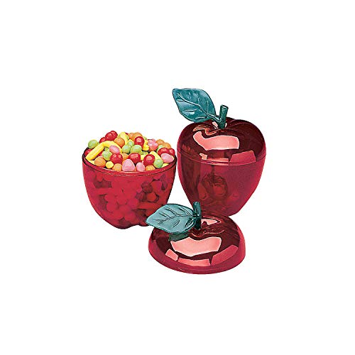 OTC Red Apple Containers (1-Dozen) for Holding Miscellaneous Objects - Housewares and Desk Accessories