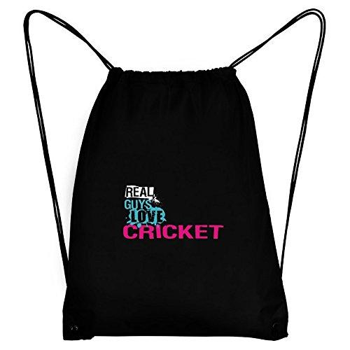 Teeburon Real guys love Cricket Sport Bag by Teeburon