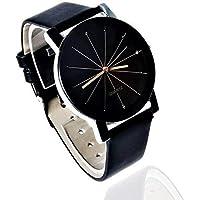NUBELA Analogue Prizam Glass Black Dial Girl's Watch