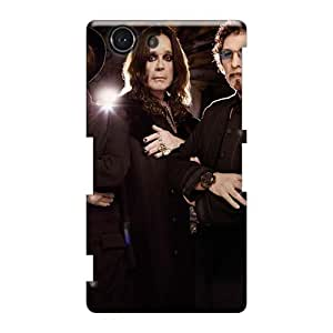 Sony Xperia Z3 Mini UXU42270dFHu Support Personal Customs Beautiful Black Sabbath Band Series Shock Absorption Hard Cell-phone Cases -SherriFakhry