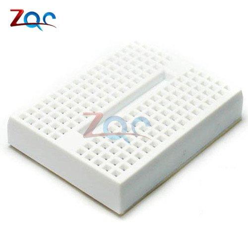 5Pcs 170 Tie-points Mini White Solderless Prototype Breadboard for Arduino