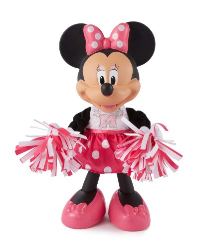 Fisher-Price Disney's Minnie Mouse Bowtique Cheerin' Minnie by Fisher-Price