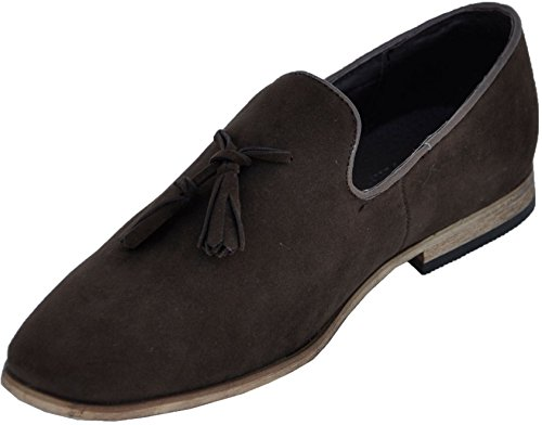 Galax Shoes Slipper Shoe brown gh3032 with Wood-brown HXT870x