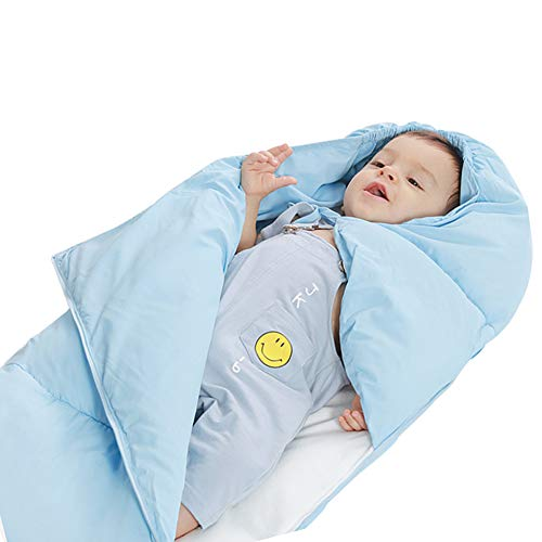 Polar Fleece Sleepsack - Baby Swaddle Blanket Wrap,Thick Fleece Baby Blanket,Swaddle Polar Fleece Sleeping Bag Sleep Sack Stroller Unisex Blanket for Crib, Stroller, Travel, Outdoor
