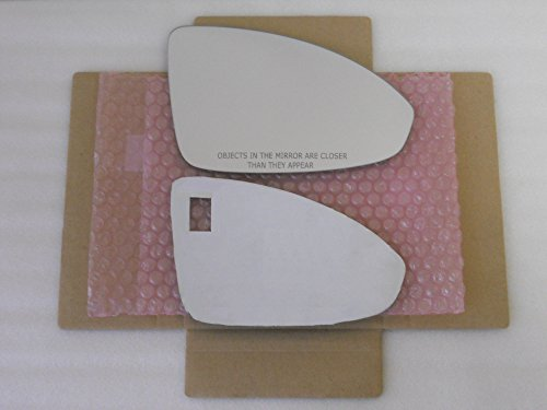 New Replacement Mirror Glass with FULL SIZE ADHESIVE for Chevrolet Cruze Passenger Side View Right RH