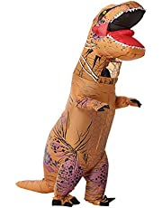 OZSTOCK Adult Inflatable T-Rex Dinosaur Costume Cosplay Suit Jurassic World Park