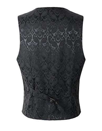 DarcChic Mens Gothic Vest Waistcoat Steampunk Victorian 4