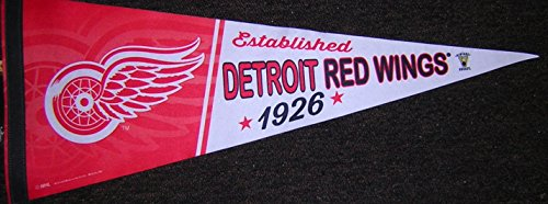 rowback/Retro Premium Pennant EXCLUSIVE (Detroit Red Wings Banner)
