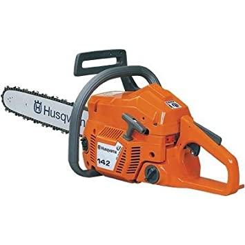 Amazon husqvarna 142 chainsaw 16 power chain saws garden husqvarna 142 chainsaw 16 greentooth Images
