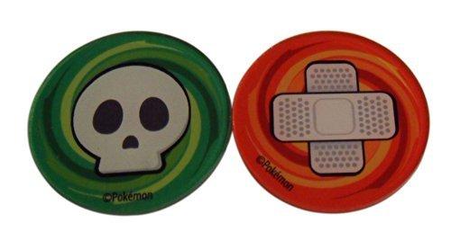 (Acrylic Pokemon Burn and Poison Markers (Sealed set of 2) from the Plasma Blast Elite Trainer Box)