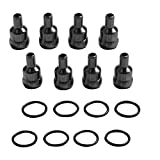 8PCS High Pressure Oil Rail Ball Tube Repair Kit Fit 04-10 Ford 6.0L Powerstroke