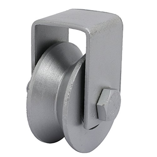 Uxcell 65mm Dia Wheel 304 Stainless Steel V Groove Rail