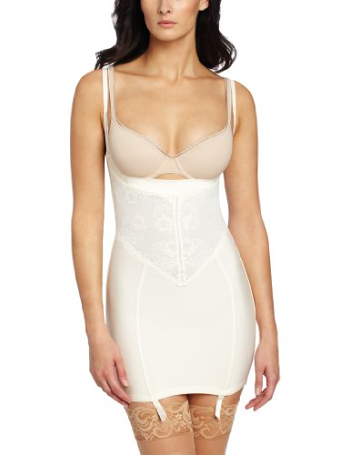 Flexees by Maidenform Women's 90th Anniversary Full Slip, Ivory, X-Large -