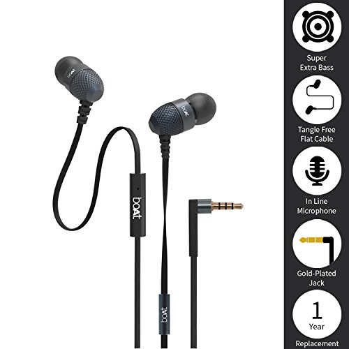 226084cce8f Dahe Boat Bassheads 180 in-Ear Extra Bass Headphone: Amazon.in: Electronics