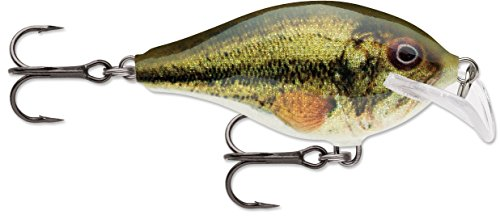 Rapala Lure Scatter Rap Crank Lure, Live Largemouth Bass, Size 07 Review