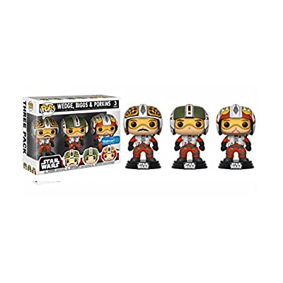 Funko Pop! Movies: Biggs, Wedge, & Porkins Vinyl Bobblehead 3-Pack