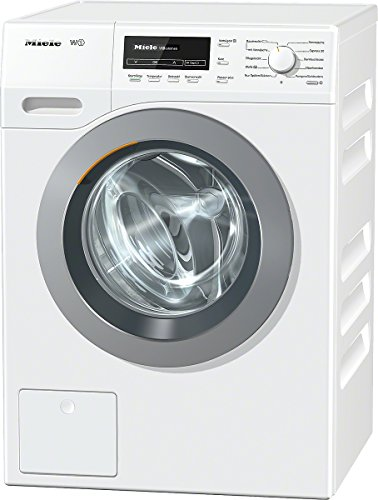 Miele WKB130WCS D LW Waschmaschine FL / A+++ / 176 kWh / Jahr / 1600 UpM / 8 kg / 9900 L / Jahr / Thermo-Schontrommel / Capdosing / lotosweiß