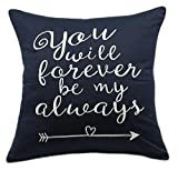 Best Gifts For Newlyweds - YugTex Pillowcase You Will Forever be My Always Review