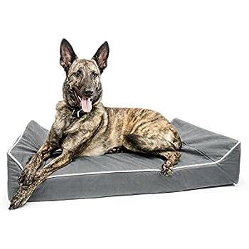 Amazon.com : Titan Dog Bed- Chew Resistant, Memory Foam