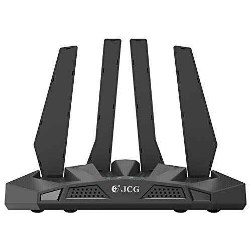 JIANG WiFi Router, Gigabit Dual-Band Wireless Router Home High-Speed High-Power Wall-to-Wall King, Can Be Applied to Some VR Equipment Big Data High-Efficiency Transmission Needs