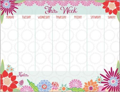 Blooming Colors Magnetic Calendar attachable product image