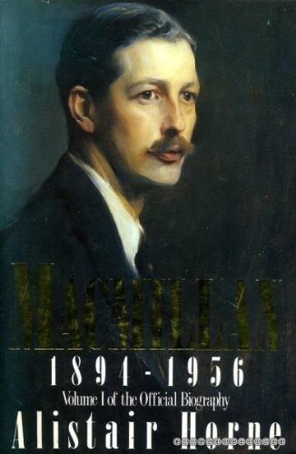 Macmillan 1894-1956, Vol. 1