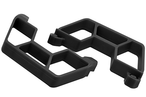 RPM 73862 Nerf Bars for The Traxxas LCG Slash 2WD, Black ()