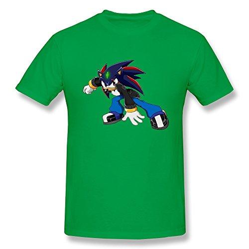 KAITIAN GentlemanDvd Sonic HedgehogtshirtsXS