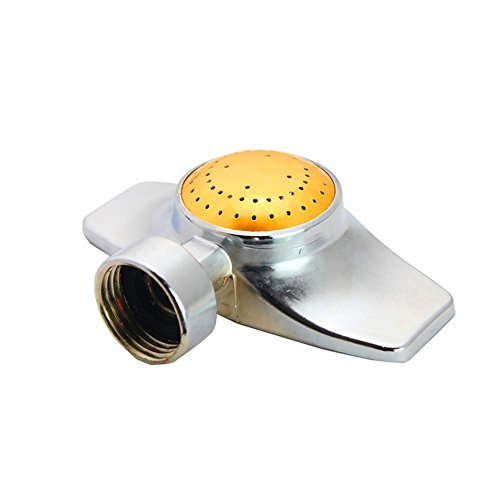 SYOOY Metal Circular Spot Sprinkler 360 Degree Sprinkler for Small to Medium Area Watering