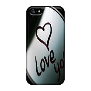 FashionE-Space Fashion Protective Love You Case Cover For Iphone 5/5s