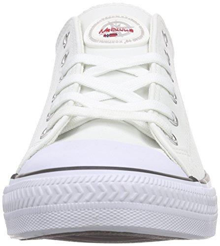 Nebulus Blanc Legara Baskets Homme Basses Blanc VOLL Leder 661qaZ