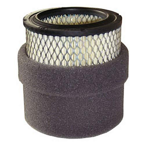 2 Microns 4-3//8 x 4-3//4 4-3//8 x 4-3//4 Midwest Control 18P Solberg Replacement Paper Cloth Element Filter