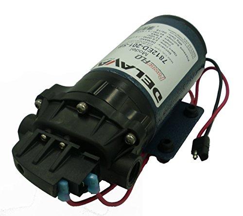 Delavan 7812ED-201-SB Extreme Duty Geolast Diaphragm Pump 12V, 60PSI, 2.0GPM, Demand by Delavan Ag Pumps, Inc.