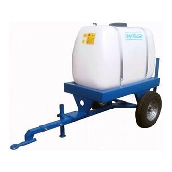 Pulverizador tracté eléctrico mm - 400 litres- cubeta y Chassis, solo - para Quad o Tractor cortacésped con asiento: Amazon.es: Jardín