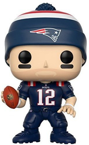 Funko POP NFL: Tom Brady (Patriots Color Rush) Collectible -