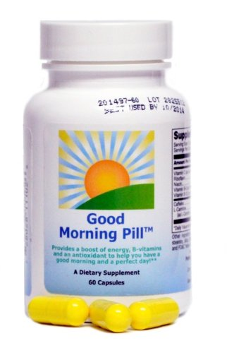 The Good Morning Pill | Energy Vitamin Supplement to Increase Focus, Replace Energy Drinks, Shots and Coffee (60 Capsules), Health Care Stuffs