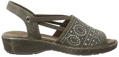 Sandals Heels Braun Jenny Brown Wedge III Women's Korsika AnwAUxXvI