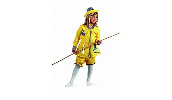 Limit Sport Disfraz de Pescadora Deluxe para niña: Amazon.es ...