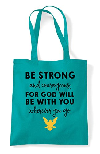 With You Tote Be Will Strong Bag For Emerald Shopper And Courageous God 4ncWrf4Tqx