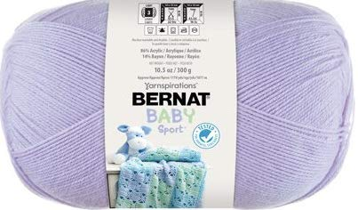 - Bernat Big Ball Baby Sport Yarn, Lavender