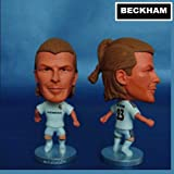 "Real Madrid David Beckham #23 Toy Figure 2.5"""