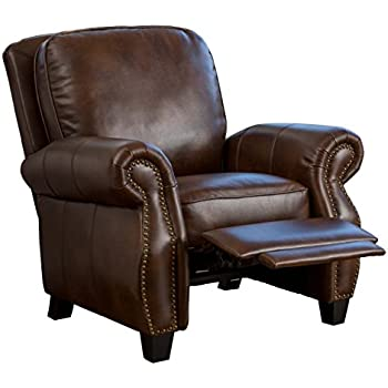 Denise Austin Home Jasmine PU Leather Recliner Club Chair  sc 1 st  Amazon.com & Amazon.com: Denise Austin Home Jasmine PU Leather Recliner Club ... islam-shia.org