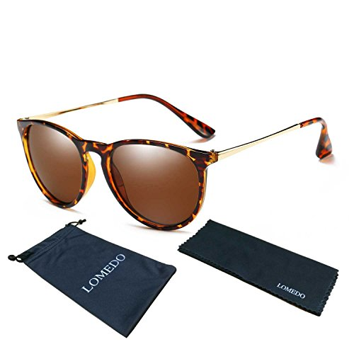 LOMEDO Simple Stytle Retro Sunglasses Round Brown - Sale Sunglasses Cheap For